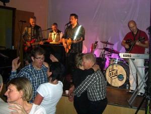 Black Jack spelade på bygdegården 8 oktober 2010.