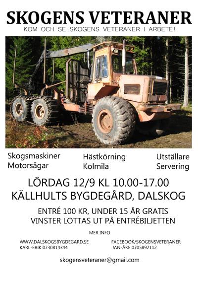 Skogens Veteraner återkommer 12/9 2015