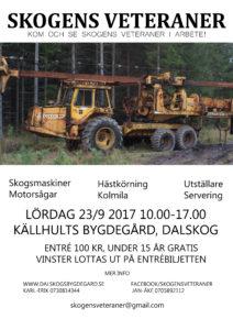 Inbjudan till Skogens Veteraner 2017